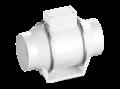Круглый канальный вентилятор в пластиковом корпусе серии Flow 160